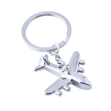 Classic 3D Model Airplane Plane Keychain With Keyring
