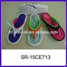 Дешевые оптовые персонализированные шлепанцы дешевые оптовые шлепанцы flops два цвета eva тапочки