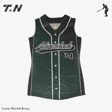 Jersey de béisbol con diseño personalizado