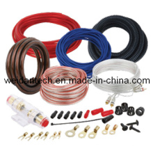 10 Ga Car Audio Power Amplifier AMP Wiring Kit (WD18A-005)