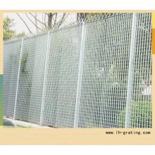 Grille de clôture avec haute qualité en acier au carbone