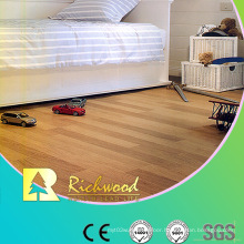 Commercial 12.3mm E1 Mirror Beech Waxed Edged Laminated Flooring