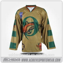 Servizio OEM Wholesale Hockey Jersey per Team