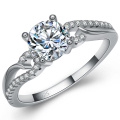 925 Silver Ring Jewelry Wholesales with CZ