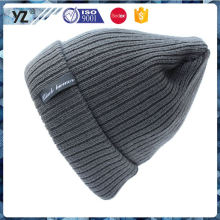 New and hot custom design best winter style knit hat wholesale