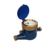 Multi-Jet Rotary Vane Wheel Medidor de agua fría / caliente