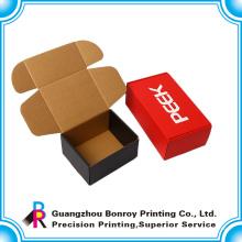 Costumbres de cajas corrugadas para el uso de envases con laminación mate