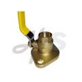 brass flange ball valve