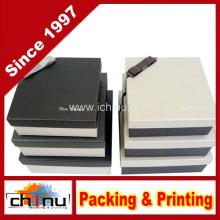 Caja de regalo de papel con OEM de encargo y en la acción (110382)