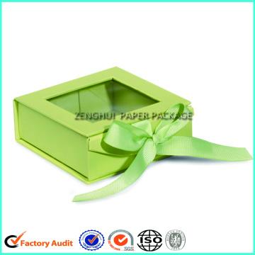 Caja de bufanda de alta calidad de encargo del logotipo