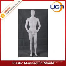 Molde plástico masculino barato del maniquí del cuerpo completo