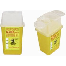Desechable Plastic Medical 1.0 L Sharp Container