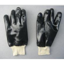 Neopren Vollbeschichteter weißer Strickhandschuh (5340)