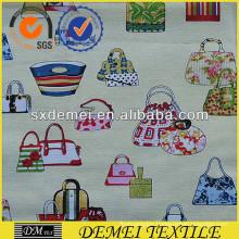 print pattern textile customers wholesale designer cotton fabric