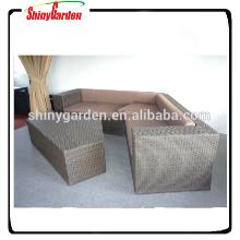 Weidenrattansofa, Sofagarniturentwürfe mit Preis, Möbelwohnzimmer-Sofageset modern