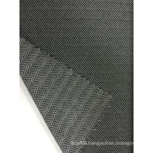 Nylon Polyester Herringbone Jacquard Knit Fabric