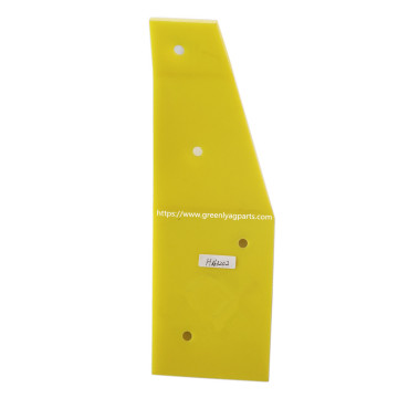 H163202 John Deere combine yellow poly skid plate