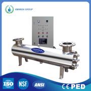 Automático de limpeza de sistemas de purificação de lâmpadas ultravioleta (UV)