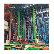 Warehouse Asrs Automatic Storage Racking System Stacker Crane Racking System