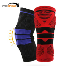 Weightlifting Training Silicone Knee Support Brace