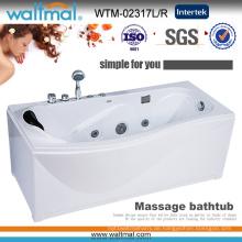 Heißer Verkauf Ecke Schürze Massage Whirlpool SPA Badewanne