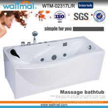 Hot Sale Corner Apron Massage Whirlpool SPA Bathtub