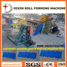 Dx Uncoiler Punching and Cutting Machine Line