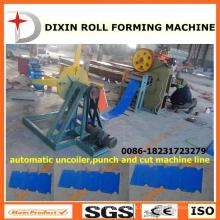 Dx Abhaspel Stanz- und Schneidemaschine Linie