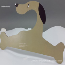 Dog Paper Printed Cardboard Clothes Hanger Big Size