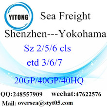 Shenzhen Port Sea Freight Shipping ke Yokohama