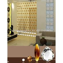 China proveedor cristal ventana cortinas princesas cortinas