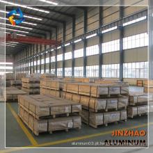 Folha de liga de alumínio da série 6000 com alta qualidade