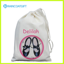 Recycling Natural Cotton Drawstring Bag Rbc-084