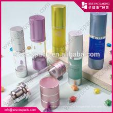 China Alu Airless Bottle Acrylic Bottle For Cosmetic , 200ml Bottle