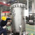 Stainless steel bag filter used in industrial water
