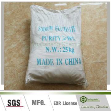 CAS: 527-07-1 Sodium Gluconate as Dispering Agent in Concrete Admixture