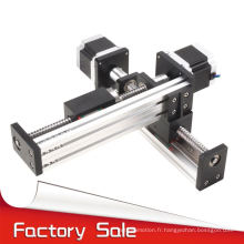 FTS40 série 2 axes cnc linéaire xy motorisé table pour la coupe en métal