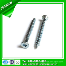 40mm Zinc Plated Square Flat Head Self Tapping Screw