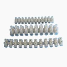 80A 30mm2 Terminal Block Plastic Terminal Blocks H/ U/ V Type PA PP PE