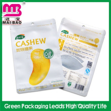 customize high quality food grade cashew nut pack bag