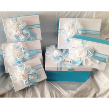Fashion design Blue love costume packing box sets