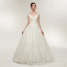 2018 elegantes appliziertes Luxuschina nach Maß formales Suzhou-Hochzeitskleidgroßverkauf