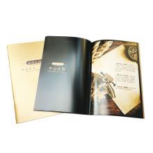 Impression personnalisée de brochure de papier de stratification de haute qualité
