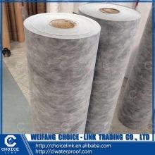 building material breathable PP PE PET waterproof sheet for basement