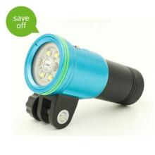 Haute qualité petit 100m étanche haute puissance conduit lumière de plongée