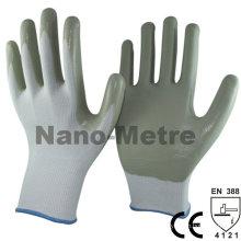 Luvas de trabalho NMSAFETY ce marca luvas de nitrilo industriais