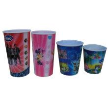 2015 Funny Flip Custom Printed Plastic 3D Cup