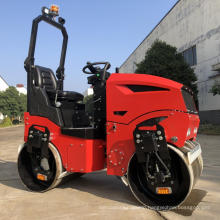Changchai engine disel ride-on portable road roller 1200kg
