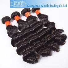 natural rohe reines russisches doppeltes Haar des Kabeilu gezeichnetes, rohes remy natürliches indisches Haar, verschiedene Arten des lockigen Webarthaares