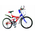 """20 """"bicicleta com suspensão única"""